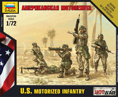 Zvezda - U.S. Mechanized infantry - 1:72