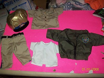 FITS CABBAGE PATCH KID DOLL CLOTHES TRU DOLLS  highway patrol SET AS SEEN
