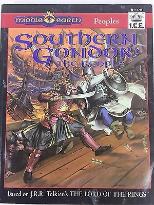 Middle Earth Southern Gondor The People Fantasy RPG Book #2020 Tolkien G