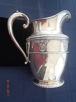 Wallace Rosepoint Sterling Water Pitcher