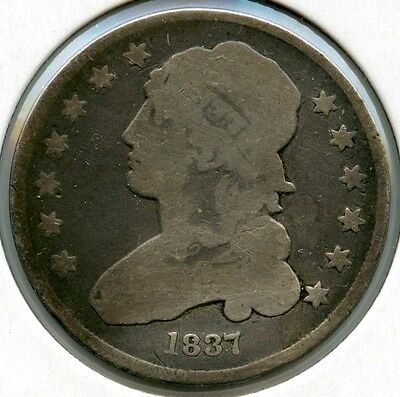 1837 Capped Bust Quarter - AE949