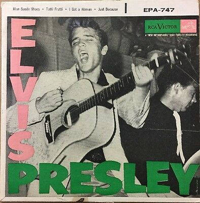 Elvis Presley (Self-Titled EP) Picture Sleeve (Sleeve Only)