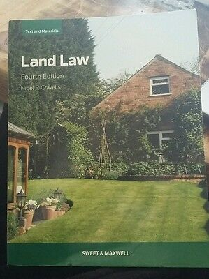 Land Law by Nigel P Gravells Paperback Book (English)