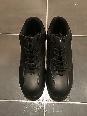 Ladies Black Steel Toe Cap Safety Boots Size 6.
