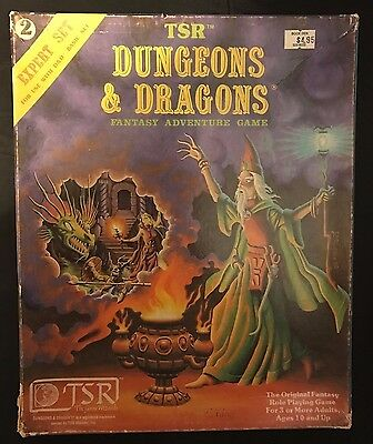 Dungeons and Dragons TSR: Expert Set 2nd Printing JB