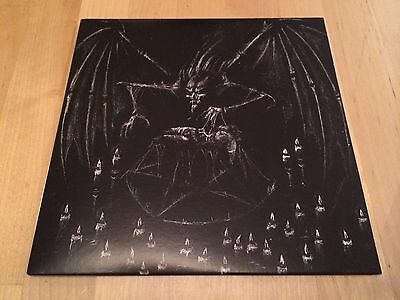 """SATANIC WARMASTER - Winter's Hunger / Torches LTD 7"""" EP NH-075 OOP"""