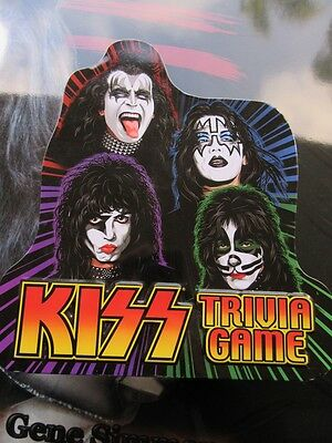 Kiss Trivia Game 2003 Original