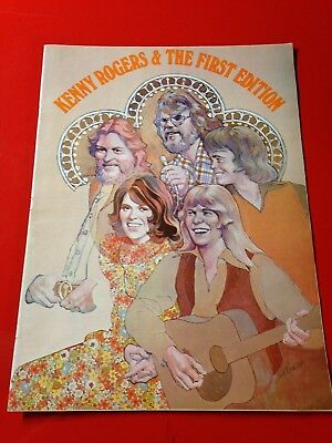 "ORIGINAL 20-pg ""KENNY ROGERS & FIRST EDITION"" BILLBOARD MAGAZINE CAREER TRIBUTE"
