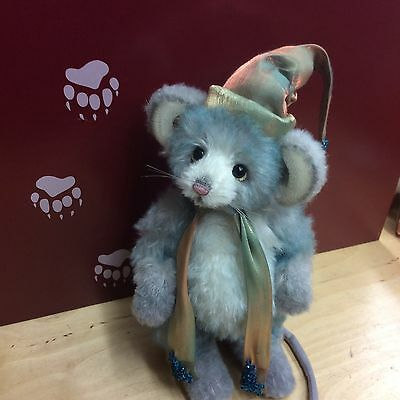 Charlie Bears Parcel Mouse New For 2016 10 Inch Jointed Mohair
