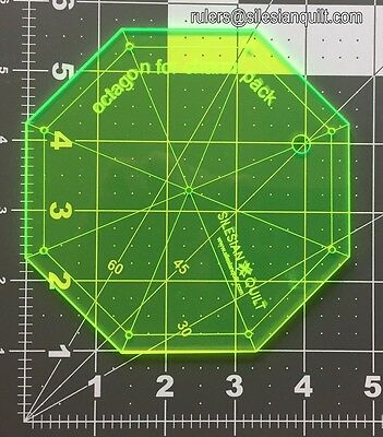 Template für Patchwork: Octagon for charm pack