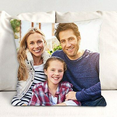 Personalized Photo Throw Pillow Family Photo Custom Printed Couch Throw Pillow