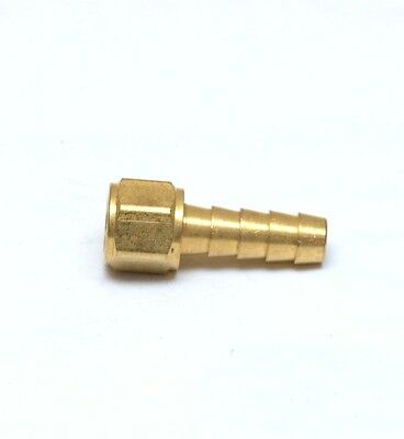 5/16 ID Barb 1/8 Female NPT Straight Hose Fitting Brass Water Oil Gas FasParts