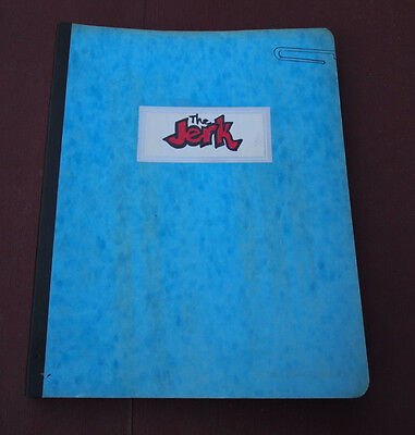 The Jerk Reproduction Script Screenplay 101 Pages Steve Martin Comedy Rare