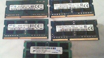 4gb ddr3 pc3 laptop 12800 and 10600 mix