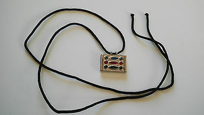 Taweez Pendant Protect Locket Spiritual Luck Keepsake Power Amulet Black Cord