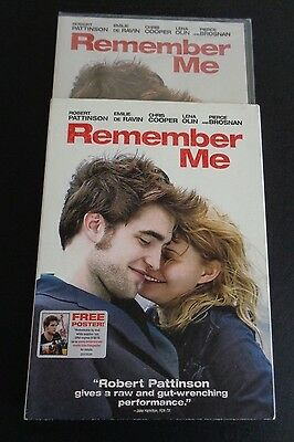 Remember Me (DVD, 2010) With Slipcover NEW Sealed FREE SHIPPING