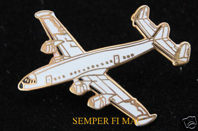C-121 Constellation Lapel Hat Pin Up Pilot Crew Wing Gift Airplane Airliner Wow