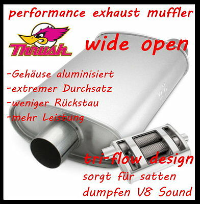 "3"" SPORT AUSPUFFTOPF  "" wide open ""  (super dumpfer V8 Sound)"