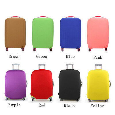 2017 20-28'' New Luggage Protector Elastic Suitcase Cover Bags Dust-proof Case