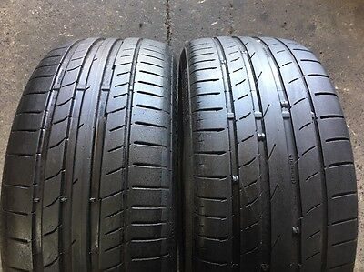 2 x 225 40 18 Continental Contact5 %60 Tread . Fitting Available,
