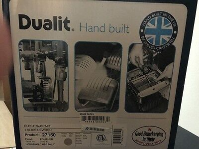 Dualit 20293 2 Slice New Gen toaster Polished Chrome with FREE SANDWICH CAGE
