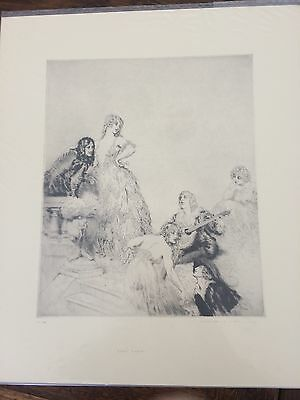 Norman Lindsay Facsimile Etching, Light Lyrics x6.