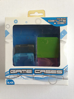 Blade Game Cases x 4 pieces - Suit DS Lite and DSI