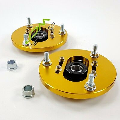 Front Camber Plate Plates FOR BMW E36 318 320 323 325 328 M3 i x2 for coilover