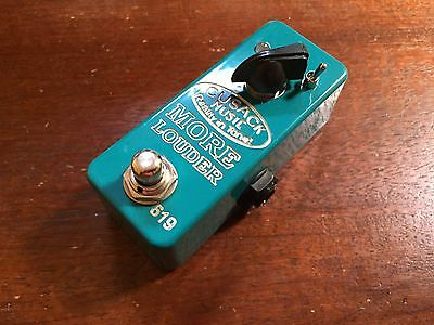 Cusack More Louder Boost And Buffer Pedal