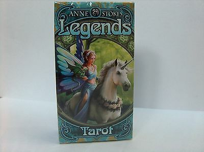 Anne Stokes Legends Tarot Cards By Fournier New Sealed.