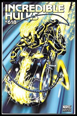 Incredible Hulks 618 Brooks Tron 1:15 Variant Ghost Rider Marvel Comics Nm/nm-