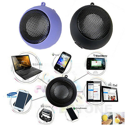 3.5mm USB Portable Hamburger Rechargeable Speaker For iPhone iPod Laptop Mini
