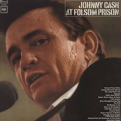 Johnny Cash - Johnny Cash At Folsom Prison (1968) HQ Vinyl - Vinyl Country