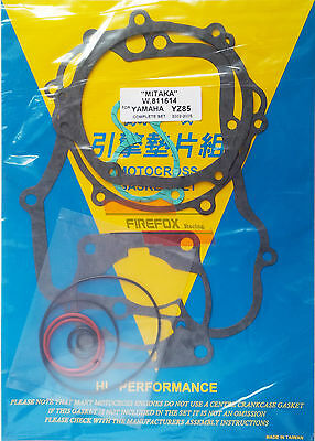 Yamaha YZ85 YZ 85 2002 - 2016 Full Gasket Set Kit