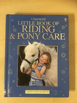 The Usborn Complete Book of Riding and Pony Care by Rosie Dickins (Hardback,...