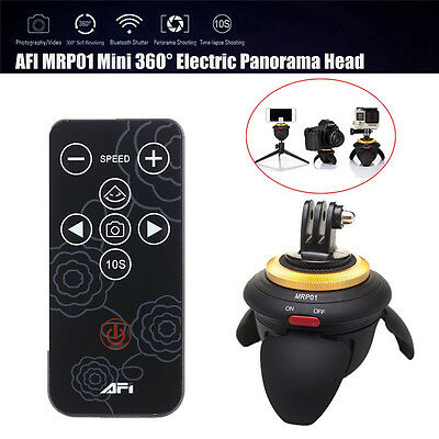 AFI MRP01 Electric Panorama Head Time Lapse Tripod Head Moubt For Selfie Stick