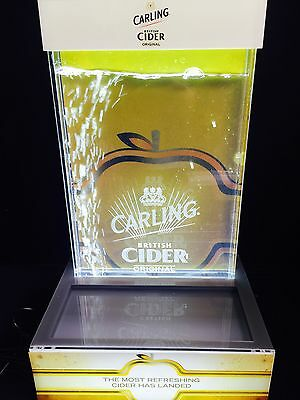 Carling Cidre water light display home bar pub man cave