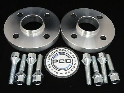 Pair 4x100 Hubcentric Spacers, 30mm Wide 57.1CB 8 Wheel Bolts VW AUDI UK Made