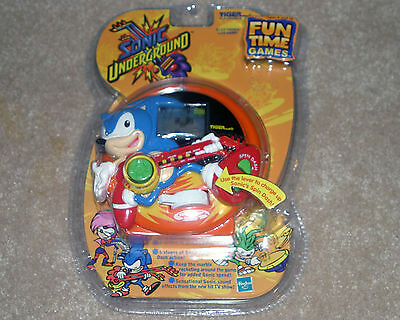 2000 SONIC UNDERGROUND Tiger Electronic Hand Held Video Game Hedgehog NEW/SEALED