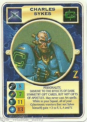 Doomtrooper: Charles Sykes English Warzone Mutant Chronicles Ccg