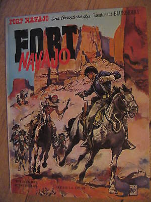 Blueberry 1 Fort Navajo Dargaud 1968 Charlier et Giraud