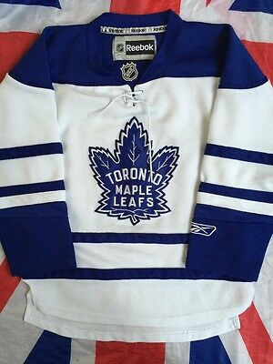 TORONTO MAPLE LEAFS Ice Hockey Shirt Jersey NHL Size Youths S SMALL