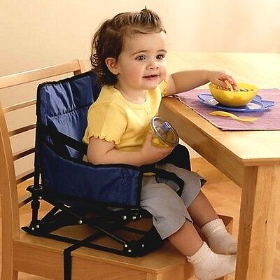 Regalo Portable Booster Activity Chair Blue Baby
