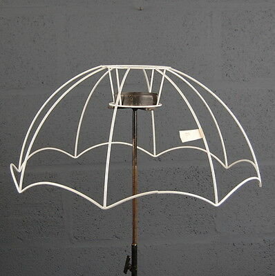 """22"""" Parachute Victorian Style Retro Wire Lampshade Lamp Shade Frame"""