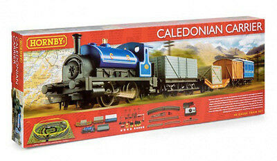 Hornby R1140 Caledonian Carrier Train Set OO Gauge 1:76 Scale BNIB - TO CLEAR