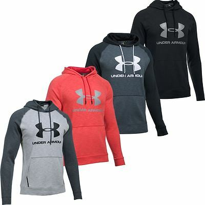 Under Armour 2017 ColdGear Sportstyle Triblend Pullover Hoodie Mens Sports Hoody