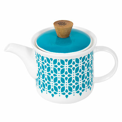 Oriental Porcelain Teapot Stainless Steel Infuser Filter Loose Leaf Chinese Tea