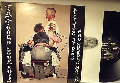 LP-TATTOOED LOVE BOYS-Bleeding Hearts And Needle Marks -N.MINT