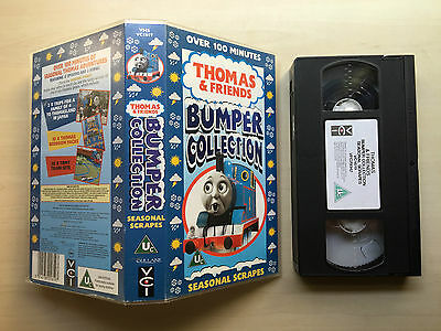 Thomas And (&) Friends - Bumper Collection - Seasonal Scrapes - Vhs Video