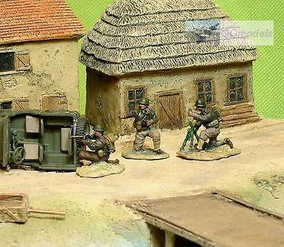 Painted 1:72 Soldiers Us Rangers Ww2 Normandy Set E (3) 72_E